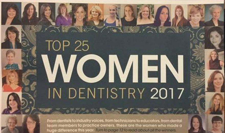 Top 25 women in dentistry Mary Beth listed