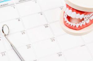 teeth calendar