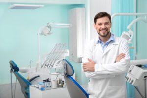 dentist standing COVID-19 cash flow