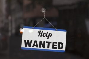 help wanted sign for dental staffing